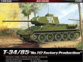 Academy 1/35 13290 T-34/85 'No.112 Factory Production'