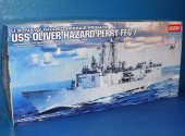 Academy 1/350 14102 U.S Navy Guided Missile Frigate USS Oliver Hazard Perry FFG-7