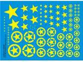 Adalbertus 1/48 48402 Allied Stars Yellow