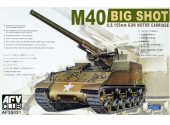 AFV Club - M40 Big Shot 155mm Gun Motor Carriage 1/35 35031