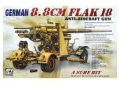 AFV Club 1/35 35088 88mm Gun Flak 18
