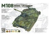 AFV Club 1/35 35108 M108 US Self-propelled 105mm/L30 Howitzer