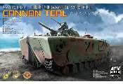 AFV Club 1/35 35141 LVTH6A1 Fire Support Vehicle Cannon Teal