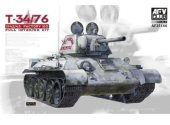 AFV Club 1/35 35144 Russian T-34/76 Mod 1942/43 Factory 183 (Full Interior)