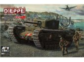 AFV Club 1/35 35176 Churchill Mk.III 'Dieppe Raid'