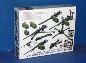 AFV Club 1/35 35246 US M2HB .50 Cal Gun Set with M3 Tripod & M63 AA Mount