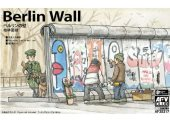 AFV Club 1/35 35317 Berlin Wall (3 Wall Pieces)