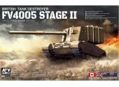 AFV Club 1/35 35405 British Tank Destroyer FV4005 Stage II (Centaur)