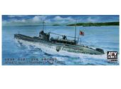 AFV Club 1/350 SE73514 Japanese Navy I-27 with A-Target Midget Submarine