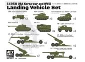 AFV Club 1/350 SE73517 USA Korean War / WWII Landing Vehicle Set 2