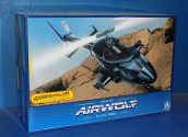 Aoshima 1/48 00559 Airwolf (Clear Body Version)