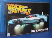 Aoshima 1/24 01186 De Lorean from Back To The Future 2
