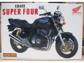 Aoshima 1/12 042151 Honda CB 400 Super Four Black