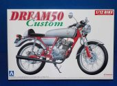Aoshima 1/12 045077 Honda Dream 50 Custom