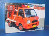 Aoshima 1/24 05142 Subaru Sambar Fire Engine