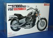Aoshima 1/12 05398 Honda Steed 400VSE with Custom Parts
