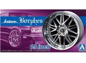 Aoshima 1/24 05528 Kranze Borphes 19 inch Tyre and Wheel Set