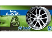 Aoshima 1/24 05529 Kranze LXZ 19 inch Tyre and Wheel Set