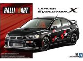 Aoshima 1/24 05544 Ralliart Mitsubishi Evolution X 07
