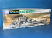 Aoshima 1/700 05670 HMS Norfolk Heavy Cruiser