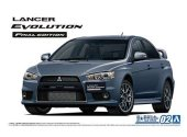 Aoshima 1/24 05795 Mitsubishi CZ4A Lancer Evolution - Final Edition