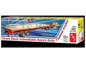 AMT 1/25 1111 Great Dane Extendable Heavy Duty Flatbed Trailer