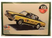 AMT 1/25 1153 1966 Plymouth Barracuda Hemi Under Glass Drag Car