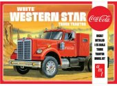 AMT 1/25 1160 Coca-Cola White Western Star Truck Tractor