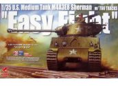 Asuka 1/35 35020 M4A3E8 Sherman Easy Eight W/T66 Tracks