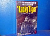 Asuka 1/35 35035 Lucky Tiger U.S. Medium Tank M4A1 With Cast Cheek