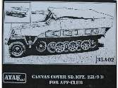 Atak 1/35 35A02 Sd.Kfz. 251/9D CANVAS COVER For AFV CLUB Kit