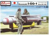 AZ Models 1/48 4862 Kawasaki Ki -148 I-GO-1 Otsu with Transport Trolley