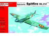 AZ Models 1/72 7485 Supermarine Spitfire Mk.XVI Early, RAF, French AF, Belgian AF