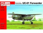 AZ Models 1/72 7527 Fairchild UC-61 Forwarder Czechoslovakia [Argus Forwarder]