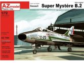 AZ Models 1/72 7564 Dassault Super Mystere B.2 with ATAR engine