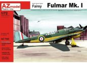AZ Models 1/72 7565 Fairey Fulmar Mk.I w/ etched parts and resin wheels