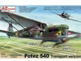 AZ Models 1/72 7576 Potez 540 Transport Version