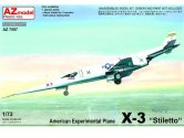 AZ Models 1/72 7597 Douglas X-3 Stiletto US Experimental Plane""