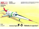 AZ Models 1/72 7598 Douglas F-3 Stiletto in Service