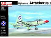 AZ Models 1/72 7599 Supermarine Attacker FB.2