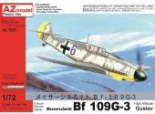 AZ Models 1/72 7607 Messerschmitt Bf-109G-3 High-altitude Gustav