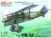 AZ Models 1/72 7612 Fiat CR-32bis Chirri Export decals for Austria x 2 and China