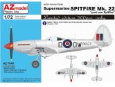 AZ Models 1/72 7640 Supermarine Spitfire Mk.22 Post war Spitfire