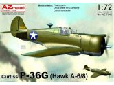 AZ Models 1/72 7645 Curtiss P-36G Hawk (H-75A-6/8) new frame added