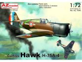 AZ Models 1/72 7646 Curtiss H-75A-4 Hawk French service new fuselage frame added
