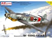 AZ Models 1/72 7656 Messerschmitt Bf-109G-14/AS 'JG 300'