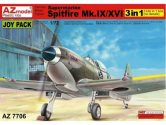 AZ Models 1/72 7706 Supermarine Spitfire Mk.IX/Mk.XVI Joy Pack (3 Kits No Decals)