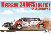 Beemax 1/24 24014 Nissan 240RS (BS110)  '84 Safari Rally Version