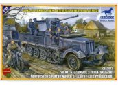 Bronco 1/35 35043 Sd.kfz 6/2 5t 3.7cm Flak36 Half-TrackBN9 Early/Late Prod