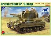 Bronco 1/35 35077 British 25 Pdr SP Bishop